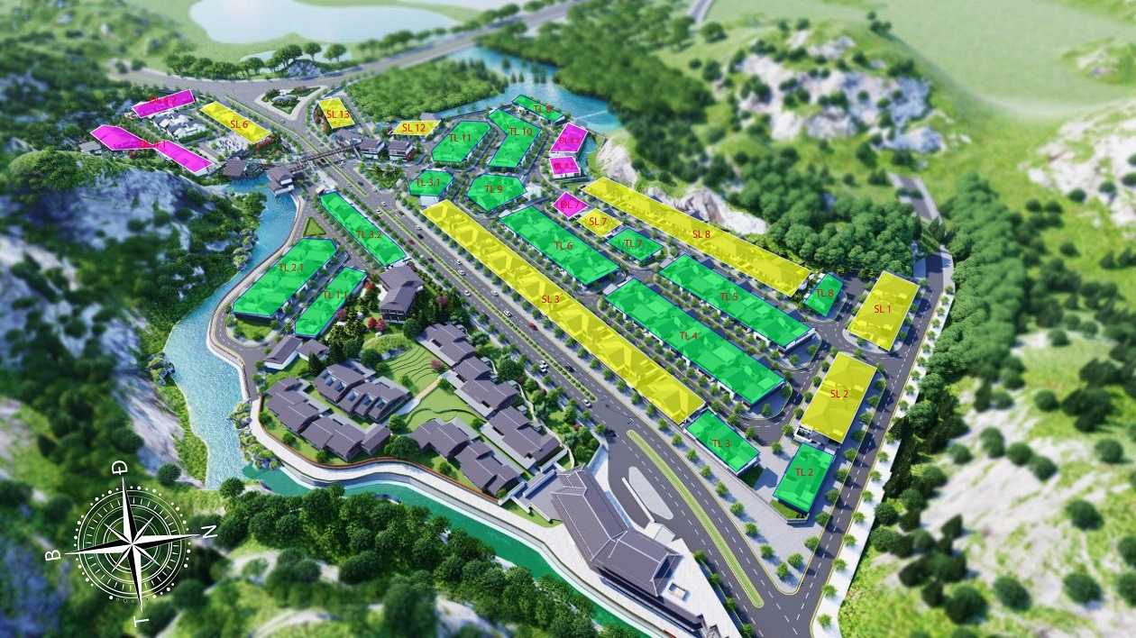 mat bang biet thu nghi duong sun villas onsen quang hanh villas